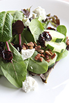 Cranberry-Pecan-Chevre Salad